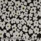 【数量5から】生地 『Wガーゼ エコベロオーガニック In nature flower 黒 YKA-81070-1D』 KOKKA コッカ