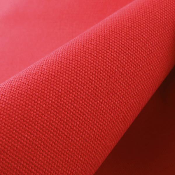 【数量5から】生地 『8号帆布 赤 (レッド) YHC8001-34RE』