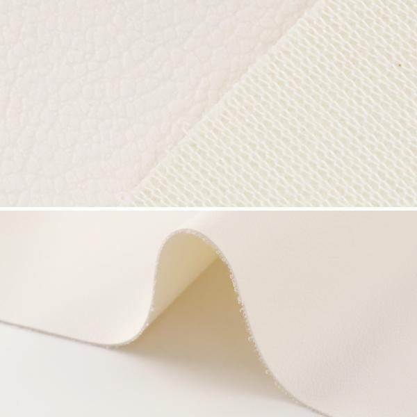 【数量5から】生地 『ロイヤルレザーナ ホワイト PVC6500-01WH』