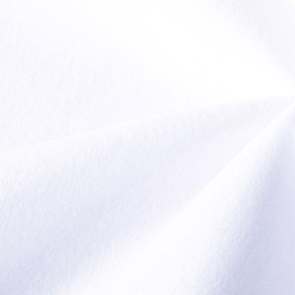 【数量5から】生地 『ウォッシャブルフェルト シロ』 SUN FELT サンフェルト