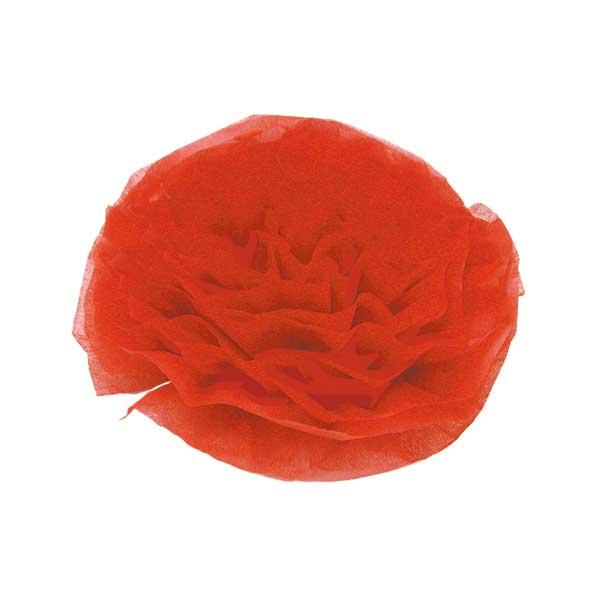 工作 『お花紙 赤 108311』 トーヨー