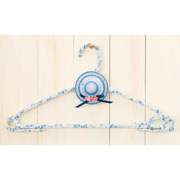 手芸キット 『ハンガーで作るエコ手芸 エコハットハンガー ブルー TC-95』 Panami パナミ タカギ繊維