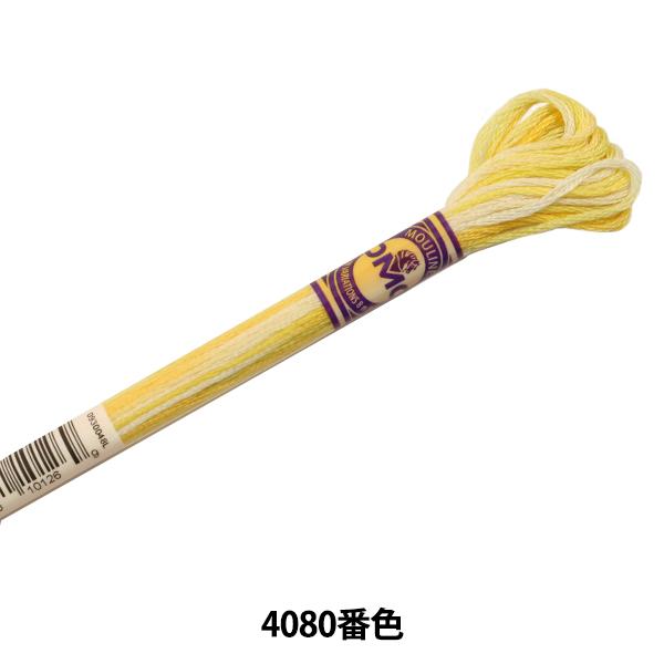 刺しゅう糸 『DMC 刺繍糸 カラーバリエーション 4080番色』 DMC ディーエムシー