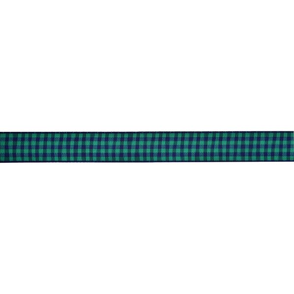 【数量5から】 リボン 『チェックリボン 4091K 7番色』 MOKUBA 木馬