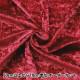 【数量5から】生地 『クラッシュベロア レッド 赤 えんじ GD3300-247』