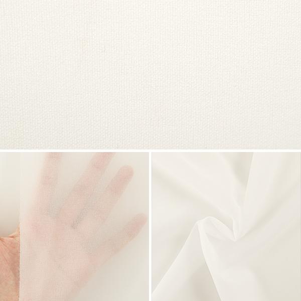 【数量5から】 織布接着芯 『ダンレーヌ 6255H ホワイト』