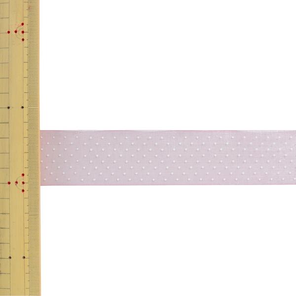 【数量5から】 リボン 『ドットプリントリボン SIC-312 幅約3.6cm 17番色』