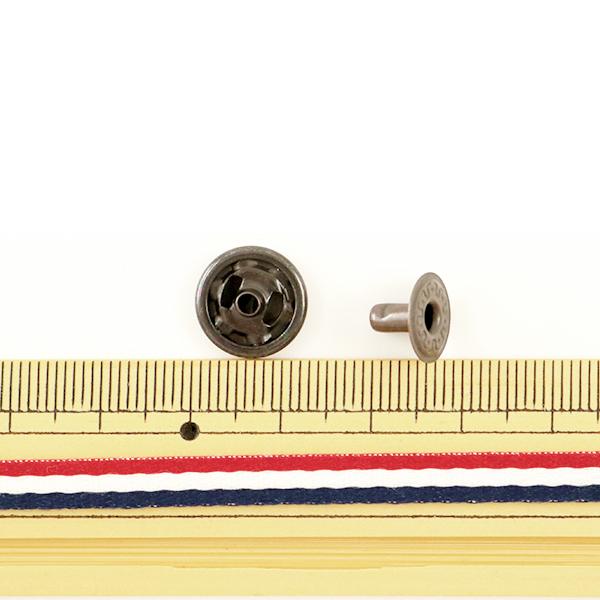 手芸金具 『ホック 大 B 10個入り 11045-03』 LEATHER CRAFT クラフト社