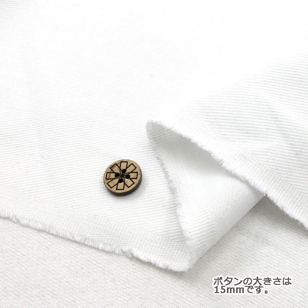 【数量5から】 生地 『カツラギデニム 白/099 /25000』