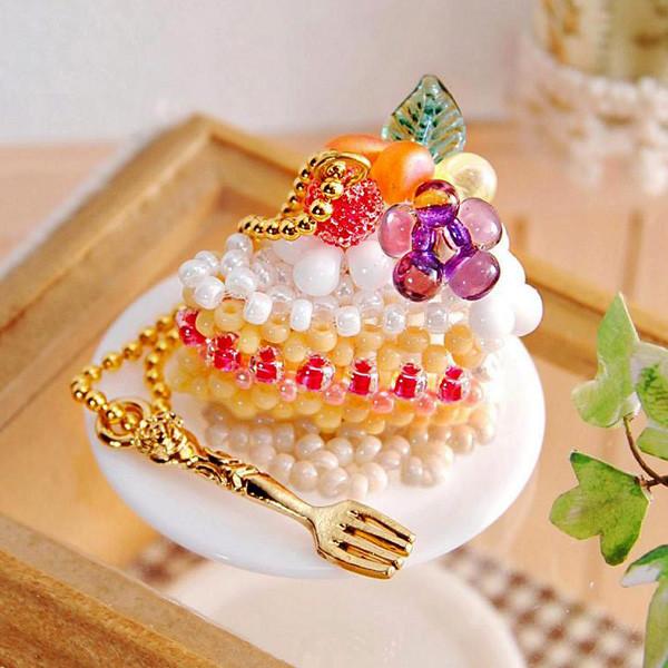 MIYUKI スウィーツチャーム3 (Sweets Charm 3) デコレーションケーキ・カット/No.52