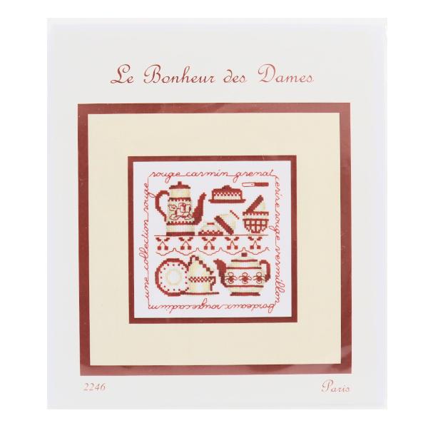 輸入刺しゅうキット 『LE BONHEUR DES DAMES 〜Paris〜 2246』