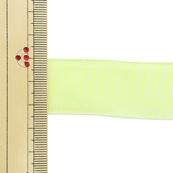【数量5から】 リボン 『イクシーズ ワイヤー入り 1467 幅約2.5cm 2番色』 AOYAMARIBBON 青山リボン