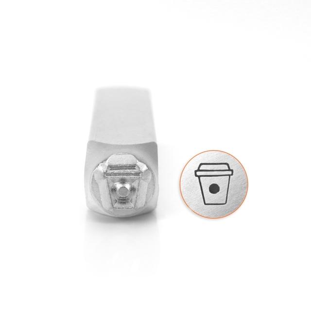 金属刻印 メタルスタンピング 『ImpressArt デザインスタンプ コーヒーカップ 6mm U1057 6』 MIYUKI ミユキ