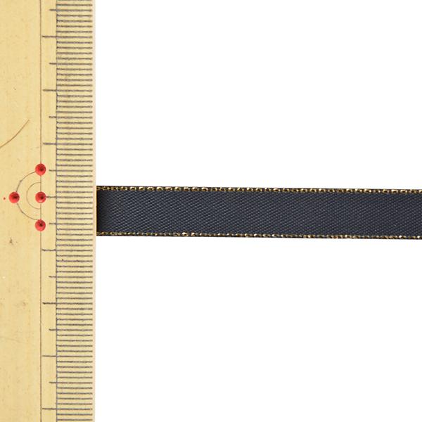リボン 『メタリックエッジサテンリボン 58801 9mm幅×5m 一反売り 30番色』