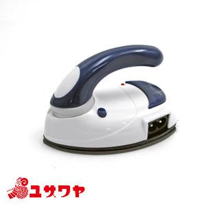 アイロン本体 『携帯用バッグ付き mini IRON (ミニアイロン) 青 DMA-04BL』 DOSHISHA ドウシシャ