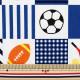 【数量5から】生地 『Tip-top collection (ティップトップコレクション) スポーツ 紺B オックス』