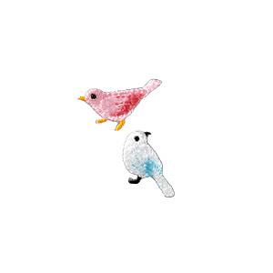 ワッペン 『Coucou (クークー) トリ H457-890』 Hamanaka ハマナカ