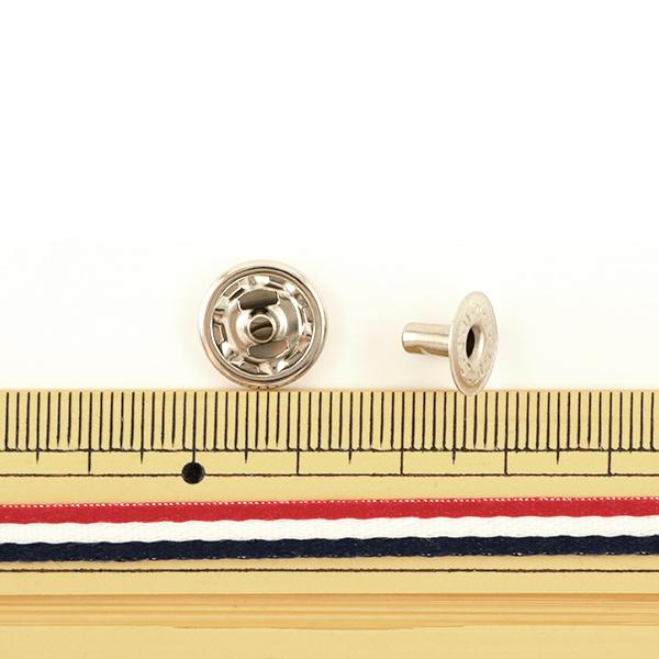 手芸金具 『ホック 大 N 10個入り 1045-01』 LEATHER CRAFT クラフト社