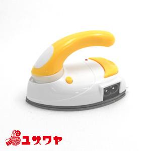 アイロン本体 『携帯用バッグ付き mini IRON (ミニアイロン) 黄 DMA-04YL』 DOSHISHA ドウシシャ