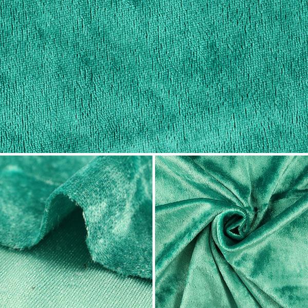 【イベントセール】 【数量5から】生地 『クラッシュベロア グリーン 緑 GD3300-169』
