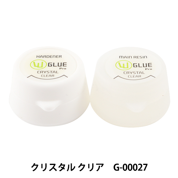 グルーデコ® 『ダブルグループロ クリスタルクリア G-00027』 wGlueJapan ダブルグルージャパン