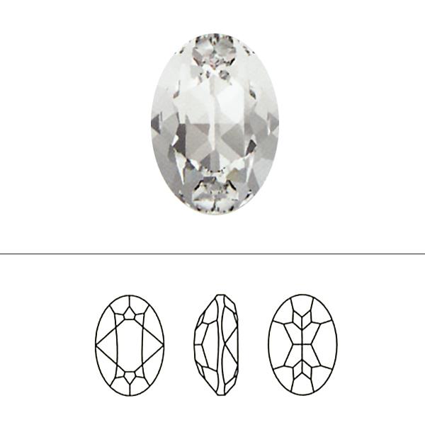 スワロフスキー 『#4120 Oval Fancy Stone ライトアメジスト 14×10 1粒』 SWAROVSKI スワロフスキー社
