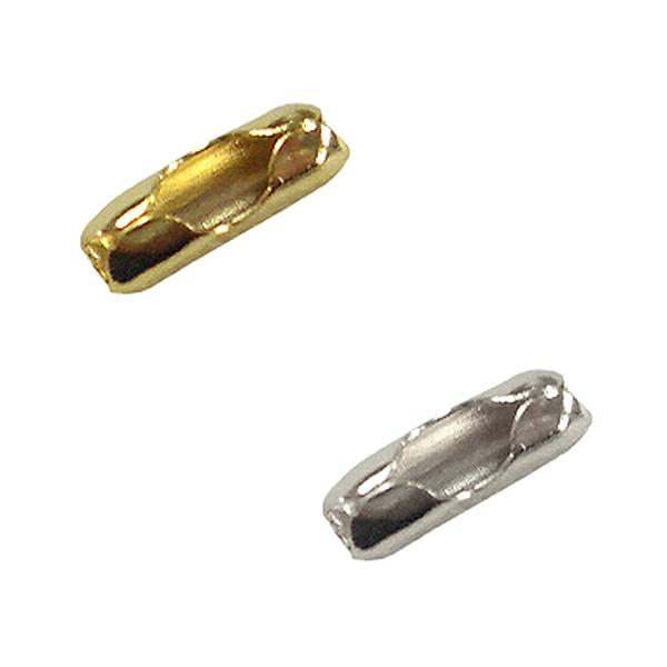 手芸金具 『コネクター1.5mm 銀色』