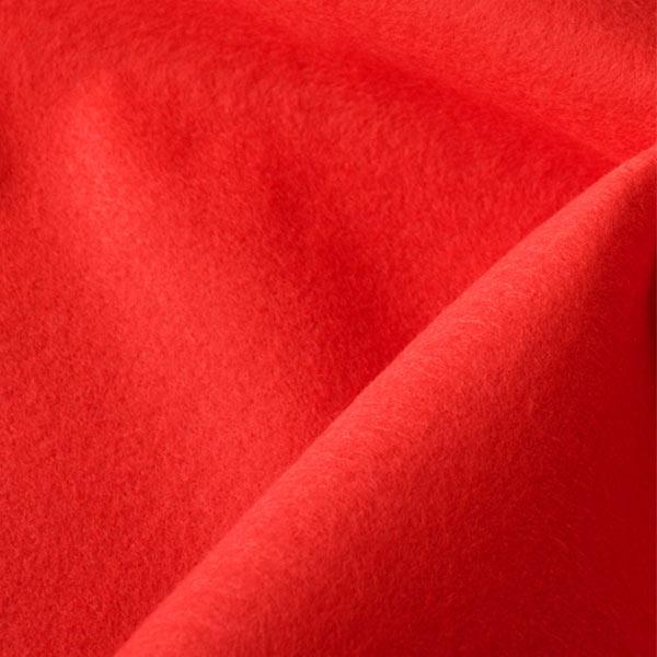 【コスプレ関連最大20%オフ】 【数量5から】 生地 『ウォッシャブルフェルト 赤』