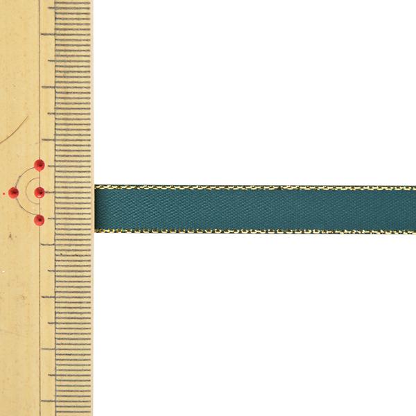 リボン 『メタリックエッジサテンリボン 58801 9mm幅×5m 一反売り 593番色』