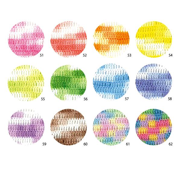 レース糸 『紫野 #40 10g かすり 55番色』 DARUMA ダルマ 横田