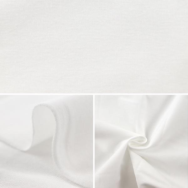 生地 『抗ウイルス機能繊維CLEANSE® (クレンゼEX®) ベア天竺 カットクロス 約85×35cm ホワイト C-KRZ-1-1』