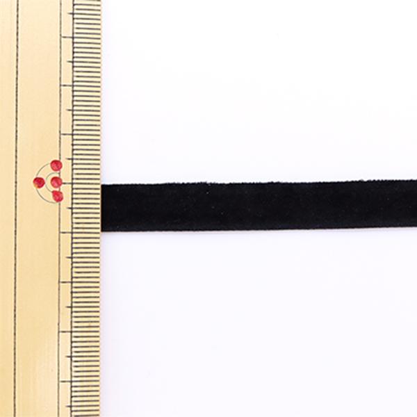 【数量5から】 リボン 『ダブルベッチンリボン 黒 9mm』 寺井