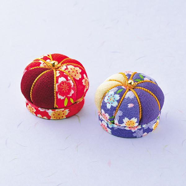 節句手芸キット 『ふっくらクッション 赤・紫 JTC-1』 Panami パナミ タカギ繊維