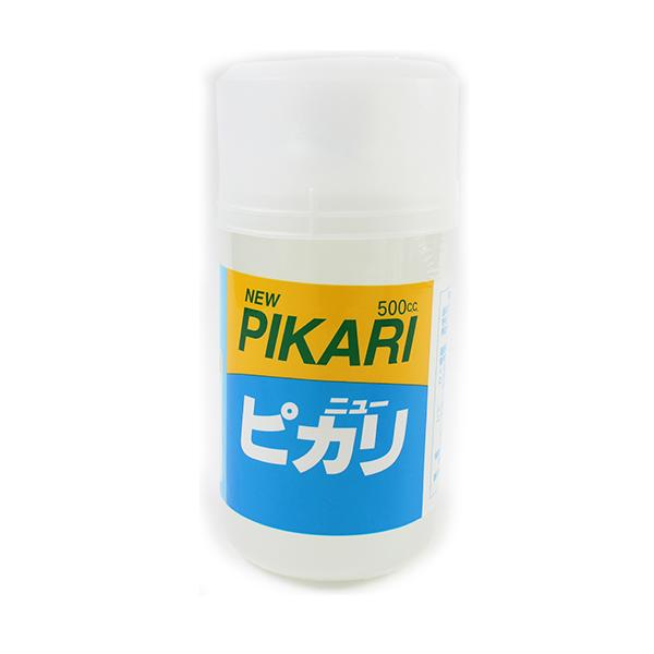 粘土用塗料 『水性つやだし液 NEW PIKARI (ニューピカリ) 500ml』 日本教材製作所