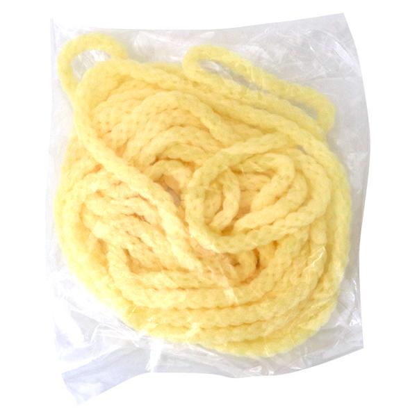 手芸ゴム 『ストレッチヤーン 約3mパック 3670番色 黄』