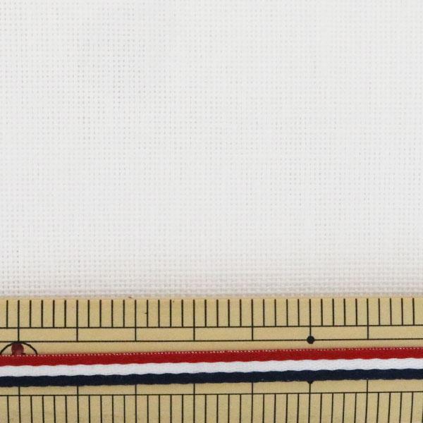 刺しゅう布 『ZWEIGART(ツバイガルト) カシェル 白 3281-100』 Original Zweigart Handarbeits-Stoff