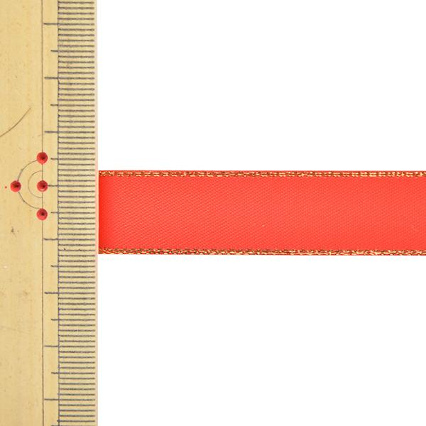 リボン 『メタリックエッジサテンリボン 58801 1.6cm幅×5m 一反売り 235番色』