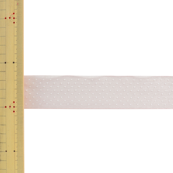 【数量5から】 リボン 『ドットプリントリボン SIC-312 幅約3.6cm 19番色』