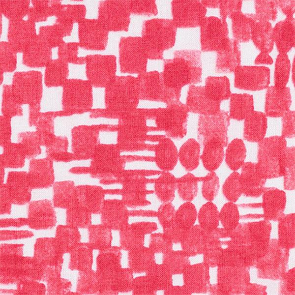 【数量5から】生地 『麻タンブラープリント 208012-54』 【雑誌掲載】