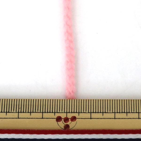 手芸ゴム 『ストレッチヤーン 約3mパック 1105番色 ピンク』