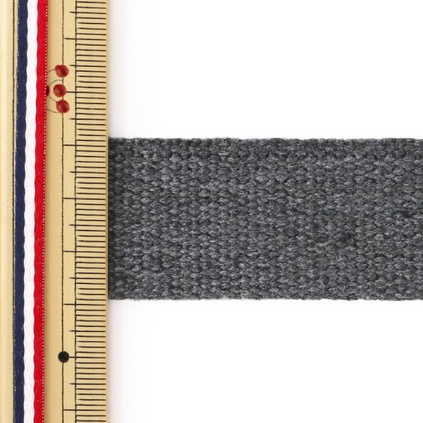 【数量5から】手芸テープ 『ヴィンテージ風テープ 30mm ダークグレー』