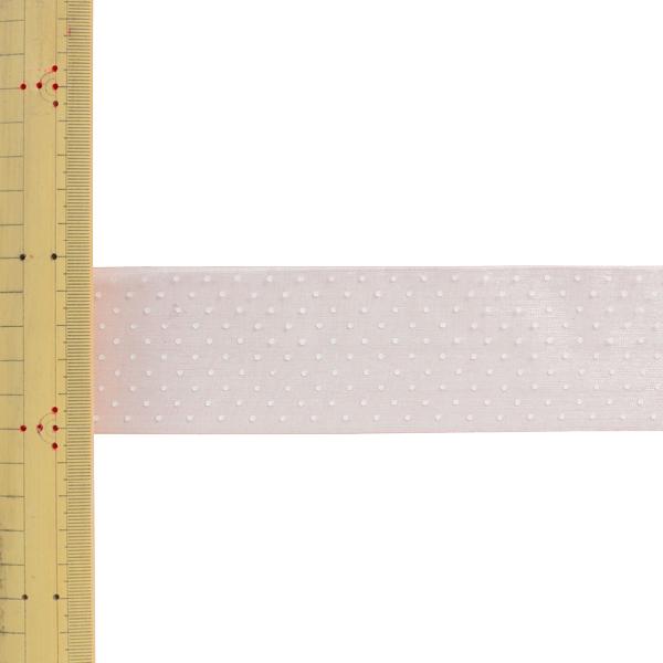 【数量5から】 リボン 『ドットプリントリボン SIC-312 幅約5cm 19番色』