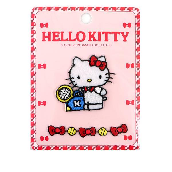 ワッペン 『アレンジワッペン ハローキティ HELLO KITTY RIO-2805』 KIYOHARA 清原