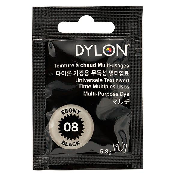 染料 『マルチブリスター 8 Ebony Black エボニーブラック』 DYLON ダイロン