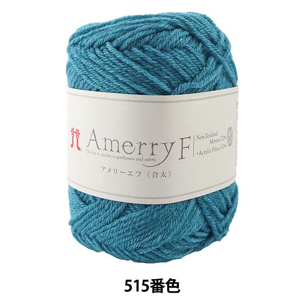 秋冬毛糸 『Amerry F(アメリーエフ) (合太) 515番色』 Hamanaka ハマナカ