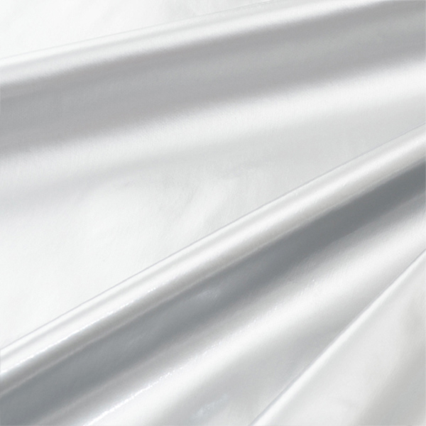 【数量5から】生地 『コスチュームエナメル薄手 シルバー』【ユザワヤ限定商品】