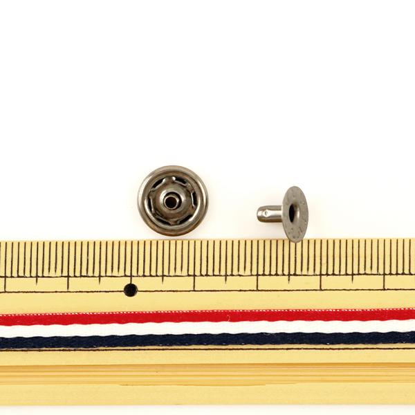 手芸金具 『ホック 中 � 10個入り 1042-04』 LEATHER CRAFT クラフト社
