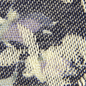 【花柄生地最大20%オフ】 【数量5から】 生地 『マンセルコレクション T/Cリネンジャガード ネイビー/YUZ-470-5』