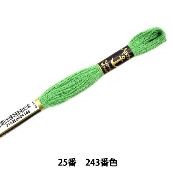 刺しゅう糸 『Anchor(アンカー) 25番刺繍糸 243番色』