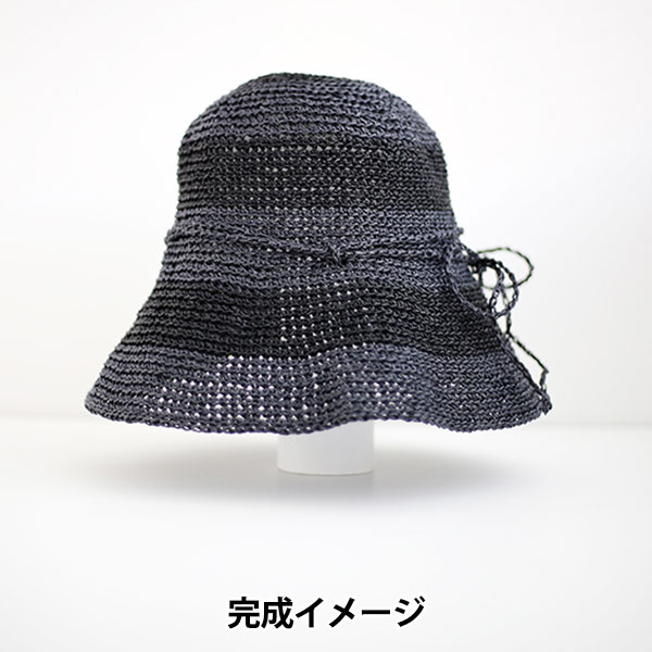 毛糸&かぎ針特別セット 『SASAWASHIでつくる つば広ハット』